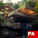 F. L. Wright – Fallingwater icon