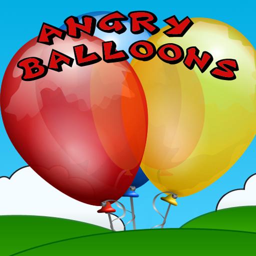 憤怒的氣球 街機 LOGO-阿達玩APP