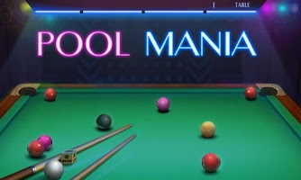 Screenshot of Pool Mania