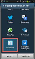 Screenshot of Wordcount