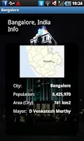 Screenshot of Bangalore Travel Guide