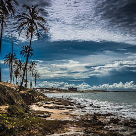 A praia by Anibal Lopes - Landscapes Beaches ( lagoinha, blue, beach, brasil, ceara )