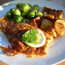 Parmesan Plaice (Or Flounder)