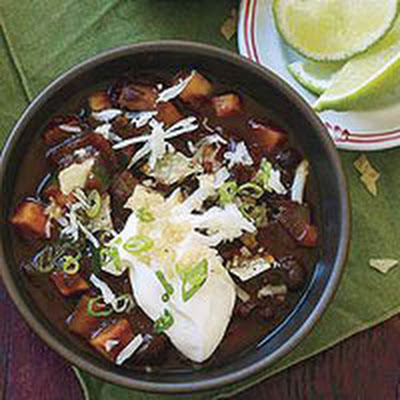 Meatless Winter Chili