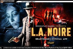 Screenshot of BradyGames Official L.A. Noire