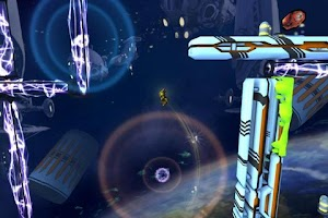 Screenshot of Inertia: Escape Velocity HD