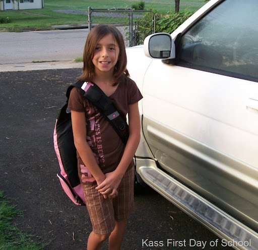 kassity first day school 08-09 It's been only two full days of school and I ...