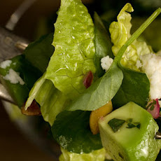 Romaine and Watercress Salad with Cilantro Vinaigrette Recipe