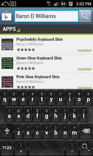Silver Charcoal Keyboard Skin