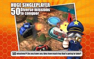 Screenshot of Great Big War Game Lite