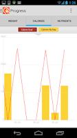 Screenshot of LIVESTRONG Calorie Tracker