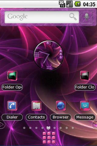Pink Vorex Theme PANDAHOME