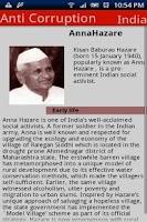 Screenshot of Anna Hazare(AntiCorruptionInd)