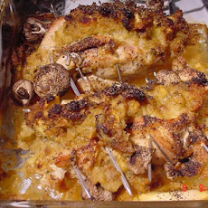 Chicken Breast Stuffed With Pineapple Stuffing