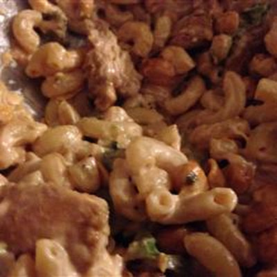 Marinated Chicken and Pasta Salad