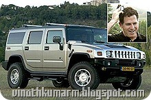 Michael Dell - $17.1 billion – Hummer H2 Billionaire car