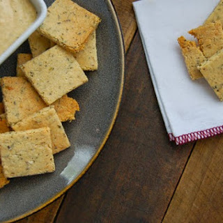 Homemade Paleo Herb Crackers