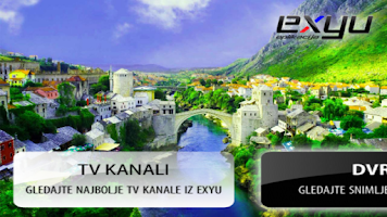 Screenshot of EXYU TV