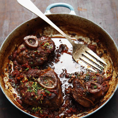 Osso Buco (Braised Veal Shanks)