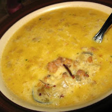 Sausage and Wild Rice Chowder