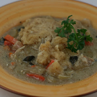 CrockPot Chicken and Dumplings Soup