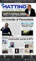 Screenshot of Il Mattino di Foggia