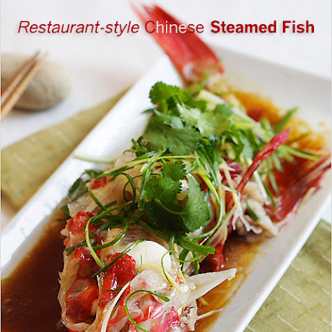 Restaurant-style Chinese Steamed Fish