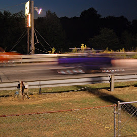 Fast Forward by Kathryn Stengel - Sports & Fitness Other Sports ( auto racing, speed, velocity, drag strip, fast finish,  )