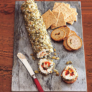 Cream Cheese and Chutney Roulade