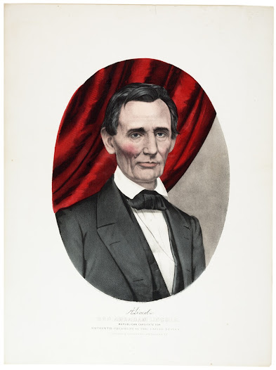 "The Republican Party emphasized Lincoln's character, capitalizing on his nickname <a href=""https://www.gilderlehrman.org/collections/24e5cec0-3000-420d-a564-372057622354"">""Honest Abe""</a> and his background as a self-educated frontier rail-splitter. He ran on the platform, ""Free soil, free labor, free men."""