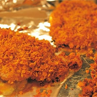Grandma Pat's Oven-Fried Cornflake Chicken