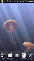 Screenshot of 3D Jellyfish HD Live Wallpaper