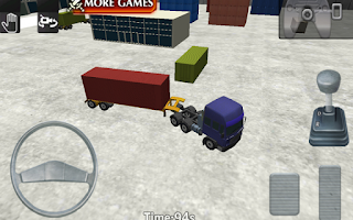 Screenshot of 18 Wheels Trucks & Trailers