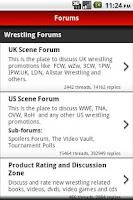 Screenshot of Talk Wrestling