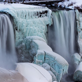 Niagara Falls - American Side by Voicu Lupan - Landscapes Travel ( niagara falls american side )