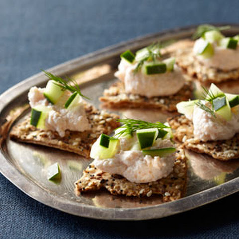 Flatbread Crackers + Taramasalata