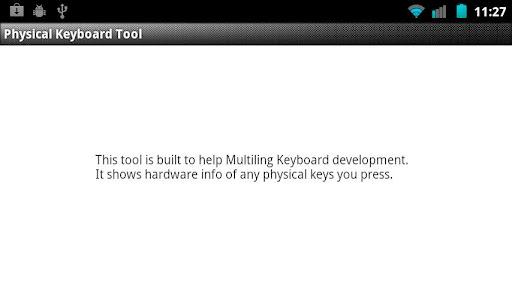 keyboard development tool