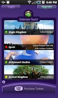 Screenshot of Disney World Wait Times Lite