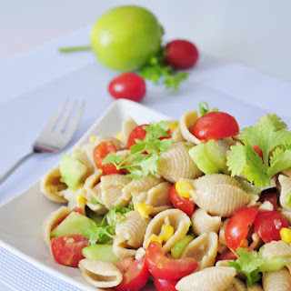 Vegan Pasta Salad with Lime