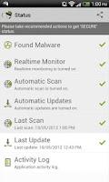 Screenshot of VIRUSfighter Antivirus PRO