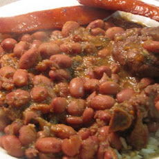 Red Beans & Rice - My Recipe