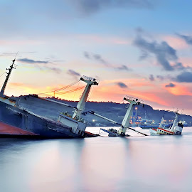 by Adi Permadi - Transportation Boats