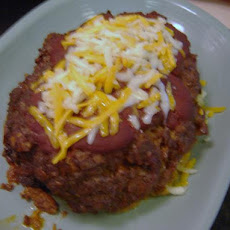Ole' Crock Pot Enchilada Meatloaf