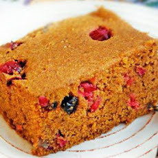 Pumpkin Chai Bread with Cranberries