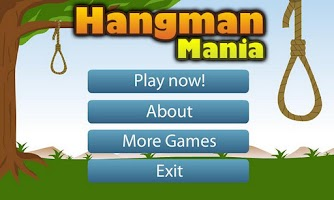 Screenshot of Hangman Mania