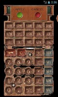 Screenshot of Steampunk Calculator HD