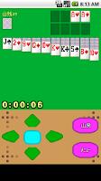 Screenshot of ダブルソリティア