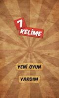 Screenshot of 7 Kelime