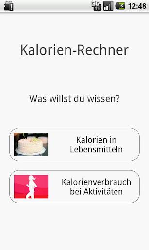 Kalorien-Rechner