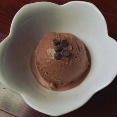 Dairy-free Double Chocolate Coconut Ice Cream